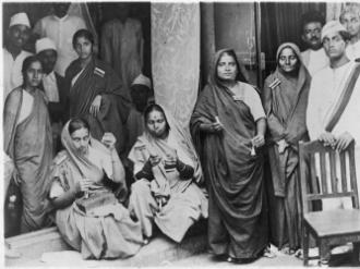 An image from the Salt Satyagraha